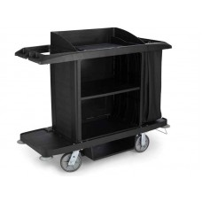 Rubbermaid Housekeeping Trolley FG618900BLA